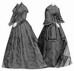 Schnittmuster: 1868 - Kleid