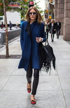 Olivia Palermo Calle Slippers