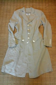 Linen Coat made by HF-R