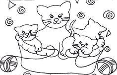 Animais Gatos imagem de impressão 43