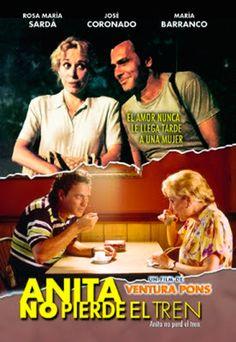 "2001- Mejor Película Iberoamericana: ""Anita no pierde el tren"" de Ventura Pons. #FilmFest #MDQ #MardelPlata #Cine"
