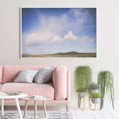 Blue skies and landscapes that keeps going for days 💙 Bring a little Karoo in your home with this Tankwa wall art print. Art Prints For Home, Home Wall Art, Home Art, Wall Art Decor, Wall Art Prints, Room Decor, Landscape Walls, Landscape Prints, Country Landscaping