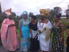 Nigerian delegation on tour on Saint Simon Island, Butler Island & Ebo Landing