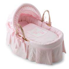 Babykörbchen für Mädchen in Pink