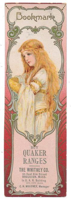 Frances Brundage Bookmark - Elaine