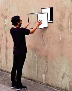 """""""Take Out"""" by Aakash Nihalani in NYC, 8/15 (LP)"""