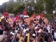 'Gajapayana' signals countdown to Mysuru Dasara