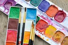 How do you know which brand of watercolour paint is the best for you? In this article, we compare the brands of watercolour paint used most frequently by artists around the world. Watercolor Pans, Watercolor Art Landscape, Watercolor Art Face, Watercolor Art Paintings, Watercolor Sketch, Watercolour Palette, Watercolor Projects, Art Videos For Kids, Art For Kids