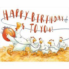 ¡Feliz cumpleaños a ti! – ¡Feliz cumpleaños a ti! Happy Birthday Chicken, Happy Birthday To You, Free Happy Birthday Cards, Birthday Wishes For Her, Best Birthday Quotes, Birthday Cheers, Art Birthday, Happy Birthday Images, Happy Birthday Greetings