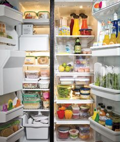 How To Organize Your Fridge | OrganizingMadeFun.com