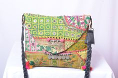 Vintage Indian tribal Banjara boho fabric by IndianHippy on Etsy