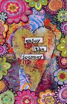 Joanna Grant Mixed Media Art: Newest Gelli Print Art Mixed Media Journal, Mixed Media Collage, Mixed Media Canvas, Collage Art, Canvas Collage, Kunstjournal Inspiration, Art Journal Inspiration, Art Journal Pages, Art Journals