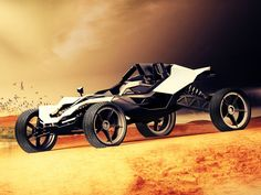 A Machine Built for Mad Max Himself – the KTM AX Buggy Concept