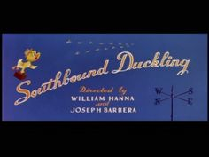 """Southbound Duckling"" Tom and Jerry Title Card"
