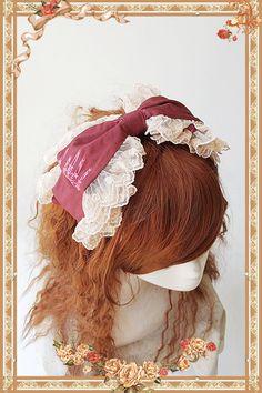 Infanta -Antique Doll Room- Lolita Headbow