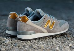 new balance 996 damskie gold