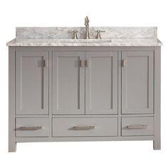 64 best 48 inch bathroom vanities images square sink double rh pinterest com