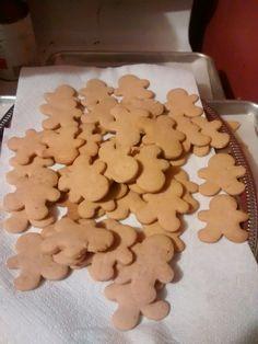 Pumpkin spice gingerbread men for fellowship time.