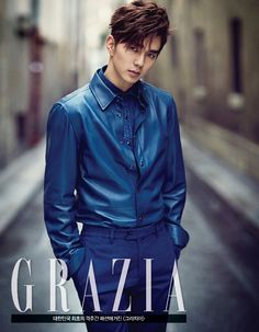 Yoo Seung Ho's Paris Pictorial For Grazia's January 2015 Edition | Couch Kimchi