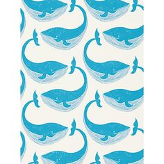 Buy Scion Whale of a Time Wallpaper Online at johnlewis.com