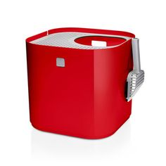 Litter Box Red now featured on Fab.