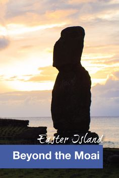 There are many places to see and visit in Rapa Nui (aka Easter Island) besides the famous Moai.