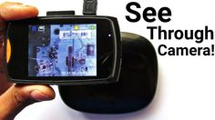 This DIY Infrared Camera Can See Through Objects ! - New Way To Teardown !