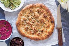 http://www.lazycatkitchen.com/no-knead-turkish-bread/