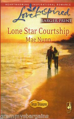 Lone Star Courtship by Mae Nunn Love Inspired Large Print Christian Romance PB 0373813597 | Check it out on eBay