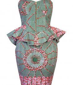 robyn ns African wedding dress! I'm loving it..