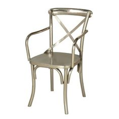 Check out this item at One Kings Lane! X-Back Side Chairs, Pair
