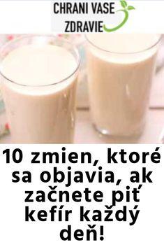 Kefir, Glass Of Milk, Detox, Food And Drink, Drinks, Health, Drinking, Beverages, Health Care