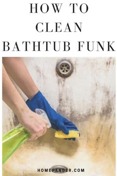 Not knowing how to clean bathtub funk can lead to frustration. But don't panic! We've explained some hacks that'll easily get rid of the funk. #bathtub #bathroom #cleaning Bathroom Cleaning Hacks, House Cleaning Tips, Deep Cleaning, Cleaning Supplies, Clean Bathtub, Lazy People, Best Cleaning Products, Advertise Your Business, Step Guide