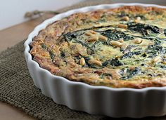 Swiss Chard and Saffron Tart - Joanne Eats Well With Others