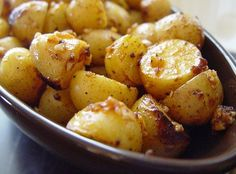 Smoking Ruby Gold Baby Potatoes from Food.com: perfect for when I needs really quick but delicious side dish.