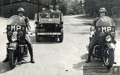 Riding Vintage article on the US Military Police astride their Harley-Davidson Motorcycles.