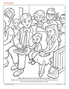 Good Lds Prayer Coloring Page 79 Lds Sacrament Coloring Pages