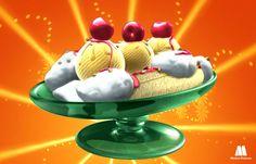 Telmo y Tula, dibujos animados infantiles, serie caricaturas animadas. Recetas para niños, cocinar con niños helado de vainilla. Recursos educativos