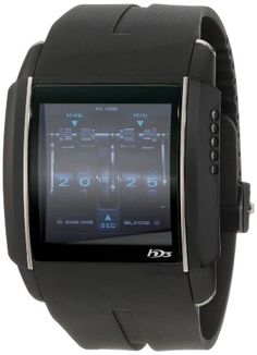 Amazon.com  HD3 Men s PV00 V1 CA01 Titanium PVD with Digital Dial Watch   Watches a5e46d29852c4