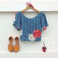 Feito com a alma❤️ #etiquetaamei #blusa #sandalia #lojaamei