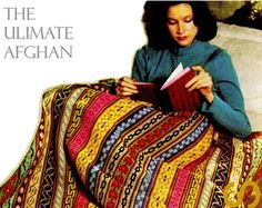 Vintage 70s Crochet PULLOVER Sweater PDF por KinzieWoolShop