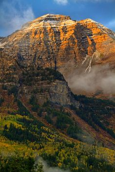 ✮ Mount Timpanogos from the Alpine Loop part of the Wasatch Mountains of Utah