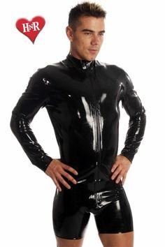 Veste en latex avec un zip de marque Honour. A utiliser au quotidien ou en soirée