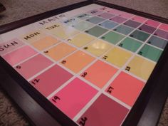 DIY dry erase calendar. Well-written instructions and examples are provided. Easy to follow and easy to complete.
