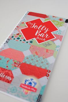 So many cute patterns in the Jolly Bar book from the Fat Quarter Shop