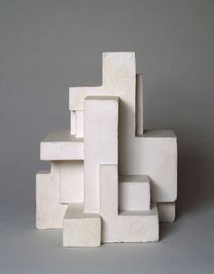 MoMA -- Construction of volumetric interrelationships derived from the inscribed square and the square circumscribed by a circle, 1924 by Georges Vantongerloo. Cast cement with paint Piet Mondrian, Beton Design, 3d Modelle, To Infinity And Beyond, Wassily Kandinsky, Land Art, Art Plastique, Public Art, Action Painting