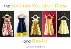 icandy handmade: (Giveaway) Summer Vacation Dress Pattern