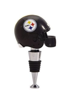 Pittsburgh Steelers Football Helmet Wine Bottle Stopper