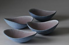 Small bowls by Kerry Hastings.