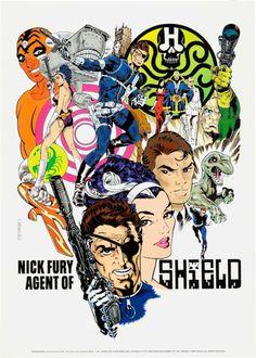 Nick Fury: Agent of S.H.I.E.L.D. by Jim Steranko